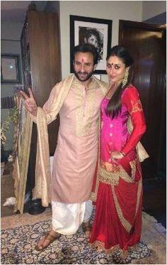 Kareena Kapoor Khan in Sabyasachi for Diwali Celebrations   Fashion Mate