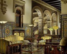 Lobby del Hotel Alfonso XIII, Sevilla