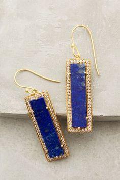 Anthropologie Shimmered Lazuli Drops #anthrofave