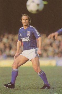 Mick Mills Ipswich Town 1981 Retro Football, Football Kits, Ipswich Town Fc, Blue Army, Jumpers, Premier League, Tractor, Kicks, Soccer