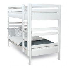 Sunne 80 cm bred Våningsssäng | Mavis | Länna Möbler | 5795 kronor. smalare variant kan vara bra för att optimera utrymmet i rummet.
