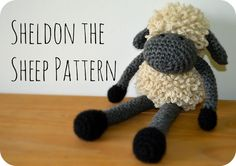 Sheldon the Sheep - free crochet pattern