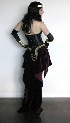 Steampunk Wonder Woman what's not to love?