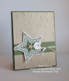 Stampin Up Bright & Beautiful Star