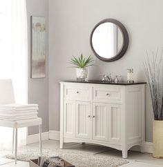 "Simple vanity. more ocuntry/waynes coating look. Amazon.com: 42"" Cottage Style Thomasville Bathroom Sink vanity Model CF47532GT: Kitchen & Bath Fixtures"