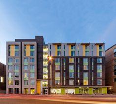 Barry J. Hobin & Associates Architects - The Beaver Barracks Community Housing, Ottawa, Canada #housing