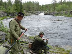 With my fishing buddies on the yearly trip to Foskros, Sweden. We've been at it now for more than fifteen years!
