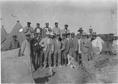 Rabat  Camp de prisonniers allemands de Sidi Moussa, groupe de prisonniers  1916.04.28