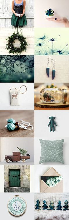 Guess Who is Coming for Christmas by Lucia Vils on Etsy--Pinned with TreasuryPin.com #etsygifts #giftguide #christmasdecor