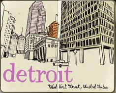 postcard from #detroit