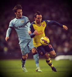 Santi the magician on the pitch.   Oh, Santi Cazorla!