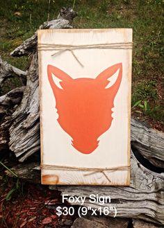 Rustic Sign