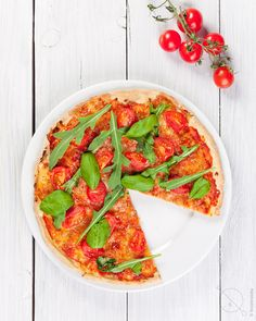 Gluten Free Pizza gluten free flat bread with cashew cheese and any toppings!