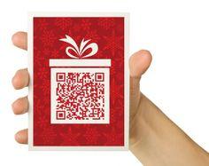 QR Code Christmas Card -
