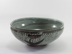 Bowl. Hakeme and rope incised decoration