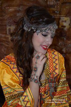 Traditional Dress and Headdress Kabyle Dzayer=Algeria. North Africa