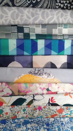 New collection of fabrics from Imogen Heath Design.