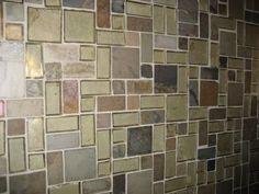 Unique backsplash tile