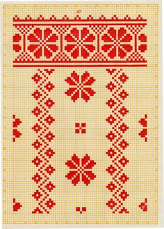 FolkCostume&Embroidery: Embroidery from Northern Left-Bank Ukraine ...