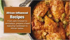 African-influenced recipes at Cooking.com
