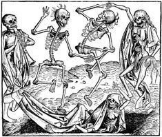 Michael Wolgemut - The Dance of Death (1493).