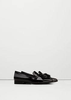 Patent loafers - Shoes for Woman | MANGO Nigeria