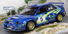 Propecia Rally New Zealand 2001 Subaru Impreza Burns/Reid 1/43