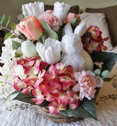 Pure as Sugar - Easter, Silk Floral Arrangements