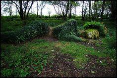 unusual garden art