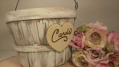 Hey, I found this really awesome Etsy listing at http://www.etsy.com/listing/150441642/rustic-card-box-country-wedding-basket