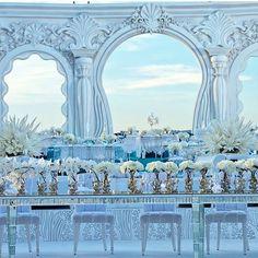 Spectacular Wedding set up by Weddings R us @ghadablanco  #lebaneseweddings