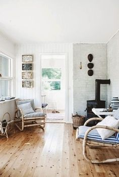 The idyllic Danish summer cottage.