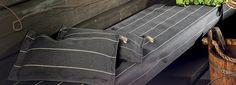 Sauna cushions and seat cover / Jokipiin Pellava