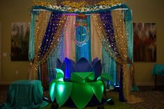 Struggling for ideas for the baby naming ceremony decoration? Remarkable cradle ceremony decoration & themes to make your little one's day memorable. Naming Ceremony Decoration, Ceremony Decorations, Balloon Decorations, Birthday Wishes For Kids, Diy Birthday, Home Wedding Decorations, Birthday Decorations, Cradle Decoration, Krishna Birthday