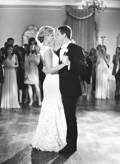 #love, #black-and-white  Photography: Jose Villa Photography - josevillaphoto.com Wedding Dress: Monique Lhuillier - www.moniquelhuillier.com Event Planning: Alison Events - alisonevents.com