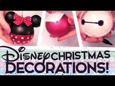 DIY Holiday Ornaments - Decorating Christmas Bulbs - 8 Easy Designs - YouTube