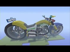 how to build a muscle car in minecraft