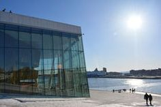 Oslo Opera House_Oslo City Stock Images