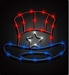 Looking for some interesting lighting for your 4th of July get together? Check out our 4th of July LED Silhouettes! only @ www.meilocreation.com