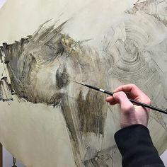 Daniel Blimes, work in progress Figure Painting, Painting & Drawing, Asian Dragon Tattoo, Modern Drawing, Matte Painting, Impressionist Art, Drawing People, Portrait Art, Figurative Art