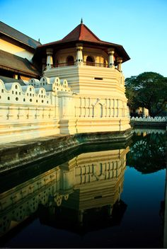 temple of the tooth .... THOUSANDS of people were lined outside when i visited because of Vesak