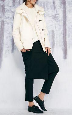 Anson Asymmetrical Paneled Long Skirt by Tibi for Preorder on Moda Operandi