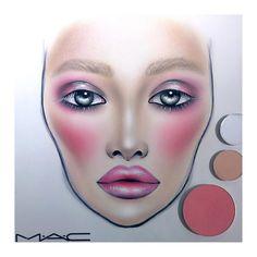 Makeup Face Charts, Creation Art, Makeup Forever, Beauty Make Up, Halloween Face Makeup, Doll Dresses, Dollcake Dresses