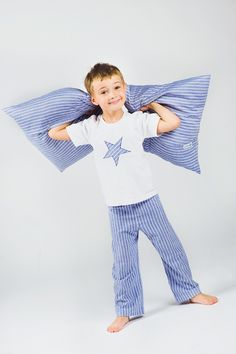 sleepwear - stripes - star