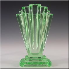 art deco glassware | Bagley Glassware Guide | Glass Reference Database