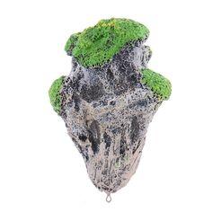 decoracin del acuario flotante suspendido de piedra pmez artificial fish tank acuarios musgo volar roca ornamento