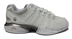 K-swiss Receiver III Women's Tennis Shoe White/silver * Continue to the product at the image link.