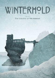 Les images du vide TES: Location Posters - Winterhold