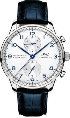 IWC Portuguese Chrono Automatic Mens Watch IW371446