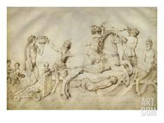 Triomphe de Bacchus Giclee Print by Jacopo Bellini at eu.art.com